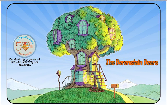 berenstain bears treehouse coloring pages - photo#31