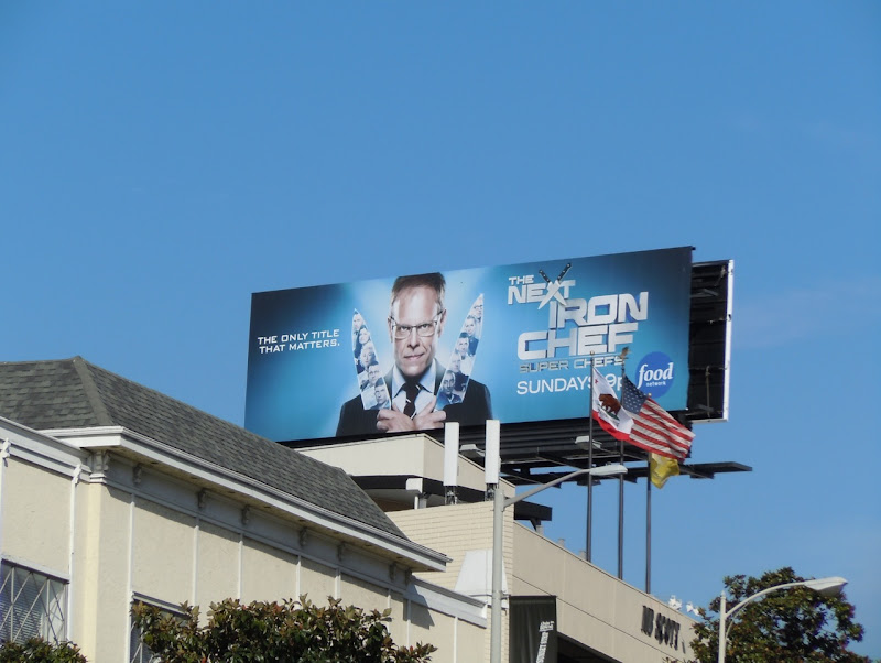 Next Iron Chef season 4 billboard