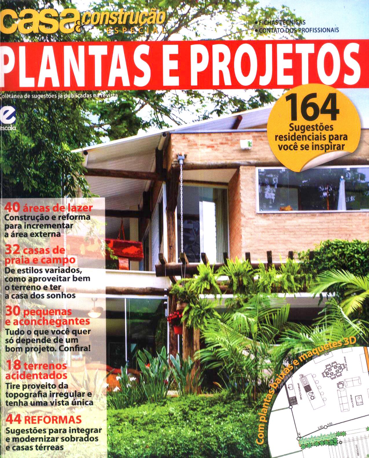 Fabuloso Arquiteto Aquiles Nícolas Kílaris :: Notícias / Blog: Plantas e  EL01