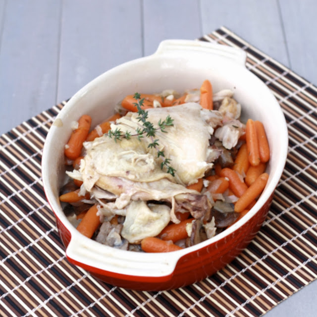 slow cooker chicken with carrots