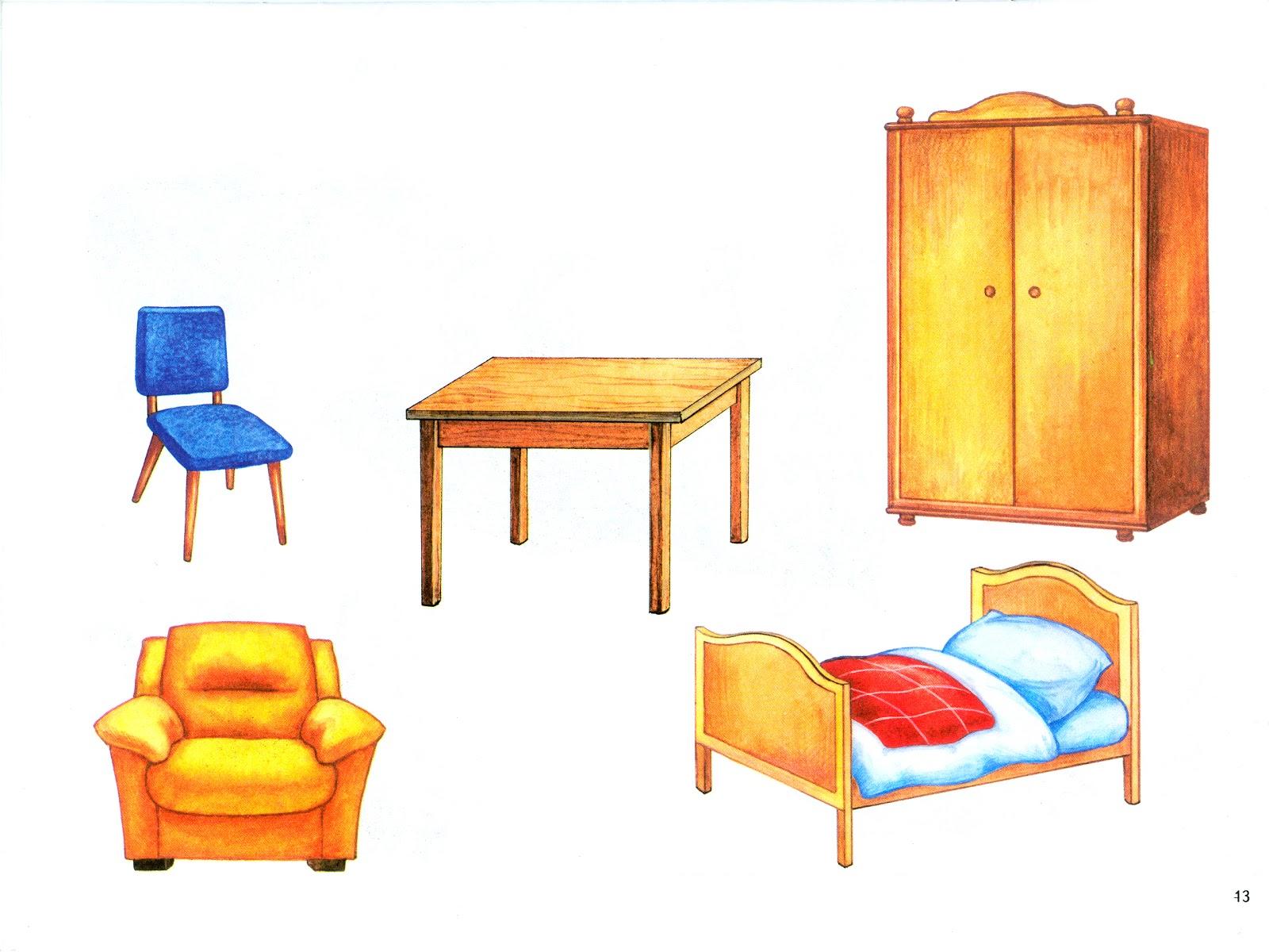 Рисованная мебель для детей