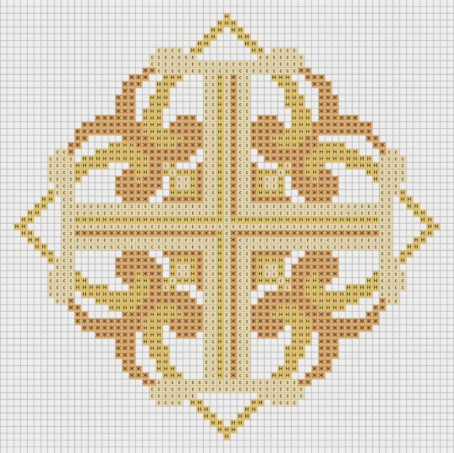 Секреты ровных крестиков Всё 43