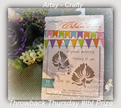 prize stamp spellbinders TBT #8