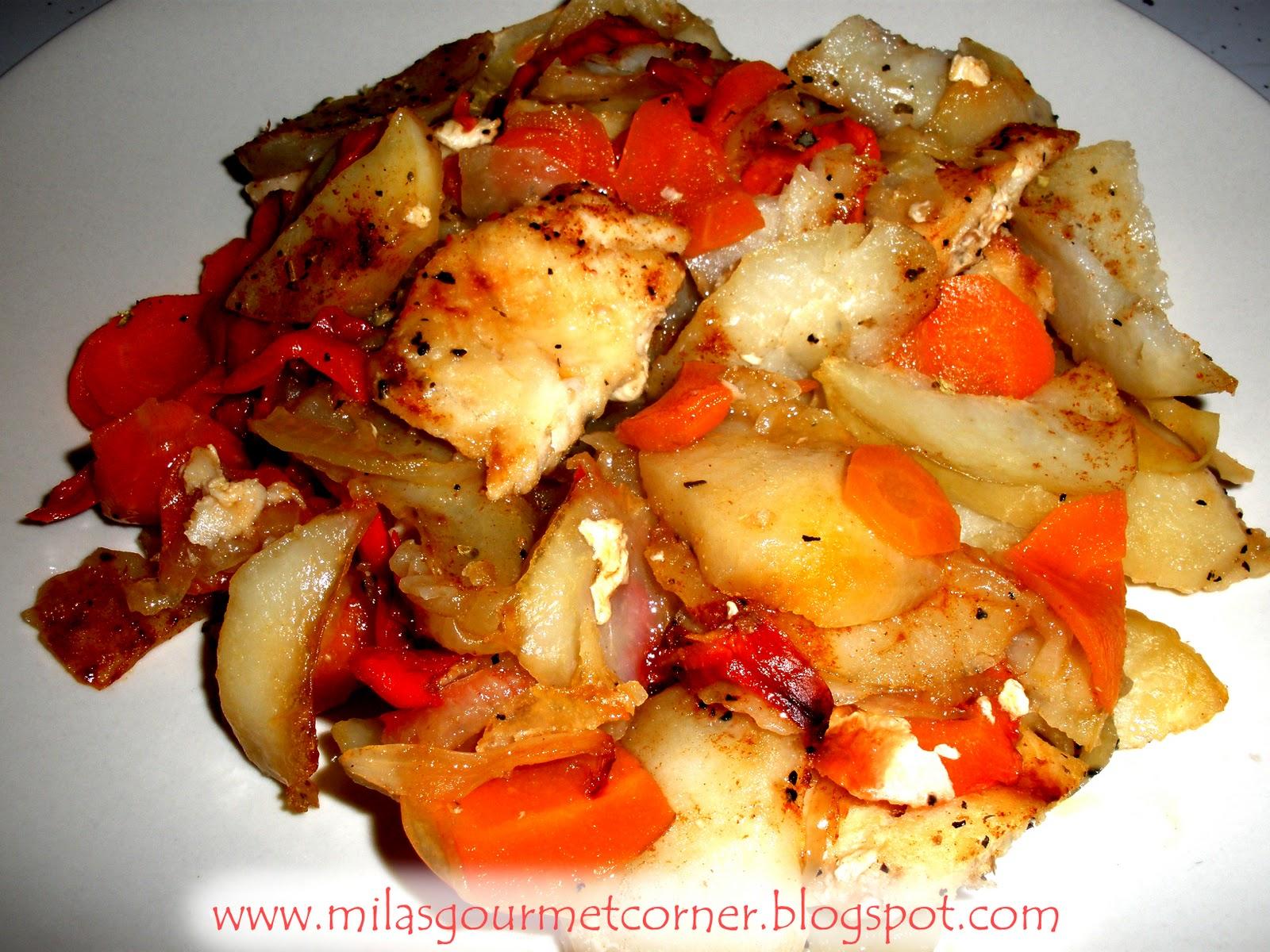 Тилапия в духовке рецепт пошагово