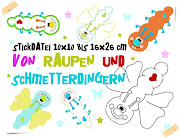 ♥ Von Raupen und Schmetterdingern ab 10x10