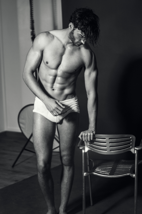 Aurelien Muller by Ricky Thomason for Lash Magazine