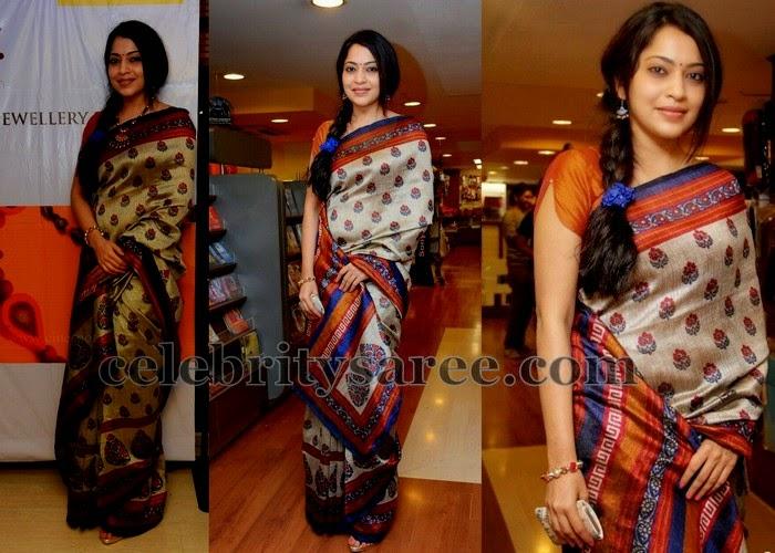 Ramya Printed Floral Saree