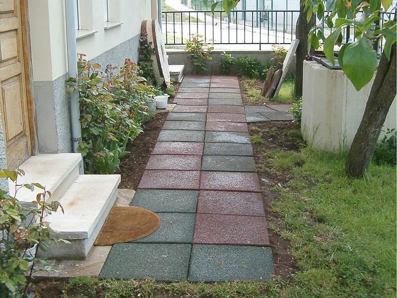 Loseta para jardin materiales de construcci n para la - Losetas para jardin ...