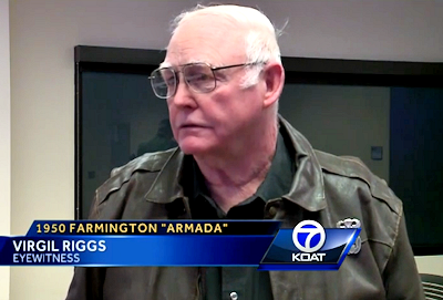 Virgil Riggs Recalls 1950 Farmington UFO Armada