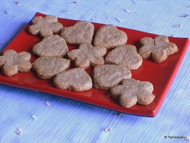 Ragi-Wheat-Oat Cookies
