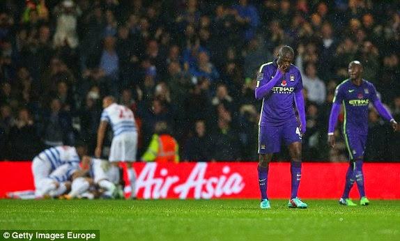"Sau vòng 11 Premier League: Man City ""chết hụt"" tại Loftus Road"