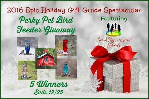 Perky Pet Birdfeeder Giveaway