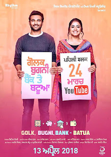 Golak Bugni Bank Te Batua (2018) Punjabi Movie HDRip | 720p | 480p
