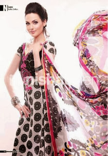 Nishat linen umbrella frocks