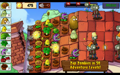 Plant vs Zombies for android