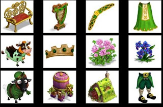 castleville game quests saint patrick market items
