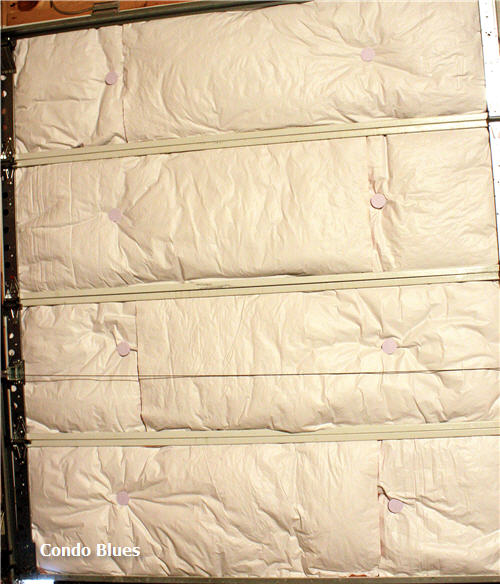 Insulation Blanket. If yourInsulation Blanket. If yourgarageis heated, you should consider installing anInsulation Blanket. If yourInsulation Blanket. If yourgarageis heated, you should consider installing aninsulation blanketto keep cold air from coming in and warm air from leaking out.