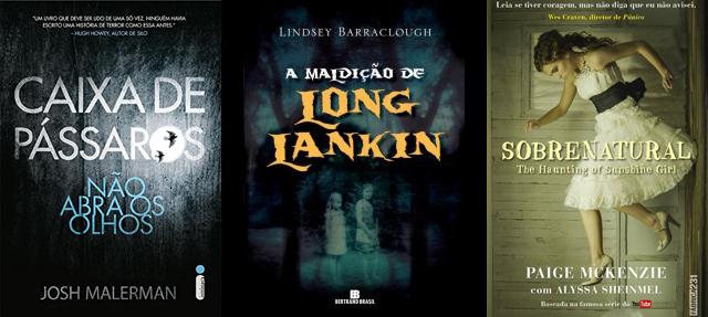 Livros para morrer de medo e ler no Halloween