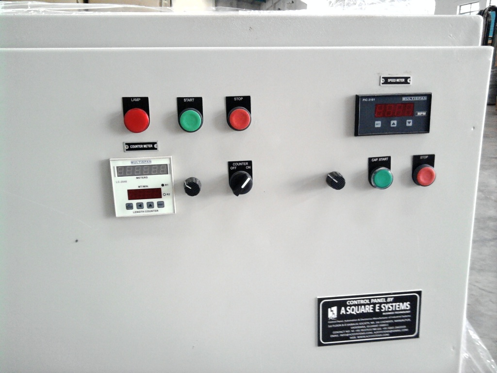 automation solutions: PLC Drive based Machine Control Panel for ...