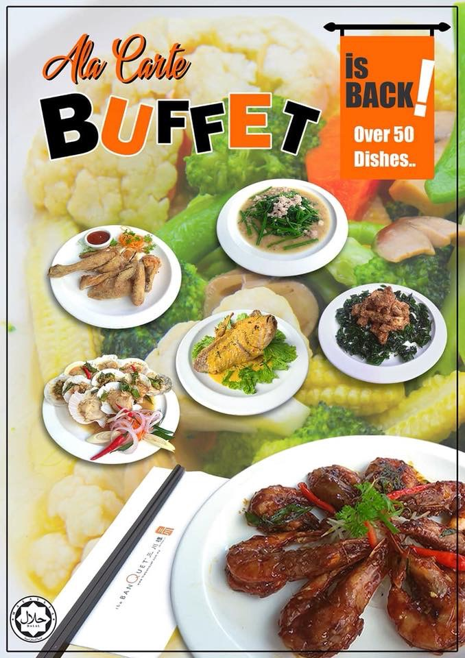 Ala Carte Buffet @ The Banquet Restaurant