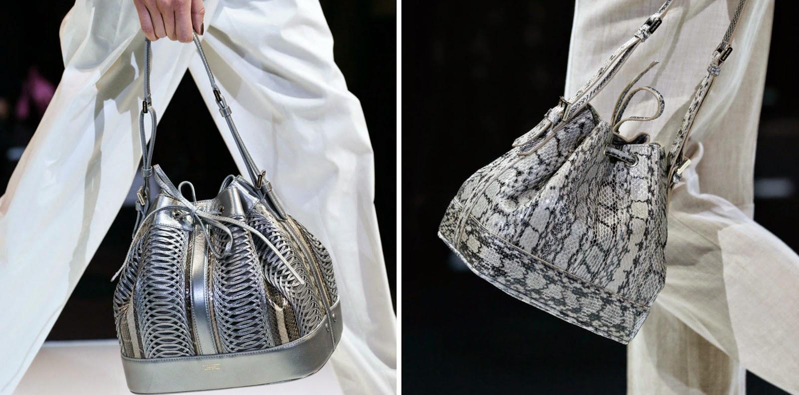 Armani Bucket Bag