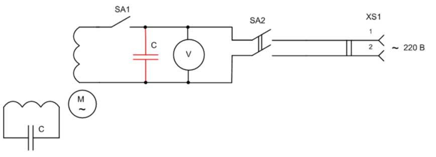 Асинхронный электродвигатель в качестве генератора своими руками 72