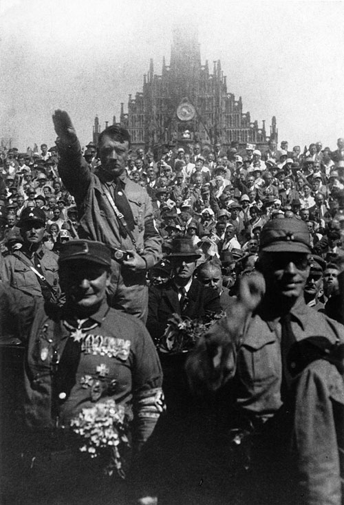 adolf hitler called himself a christian Adolf hitler, left, and benito mussolini saluting during a 1938 meeting  country  we allow mediocrity to rise to the top and call itself cream 61.
