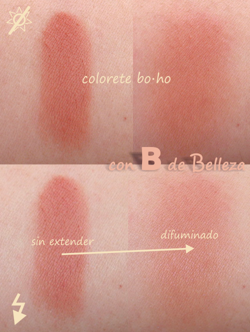 Swatch colorete Bois de rose