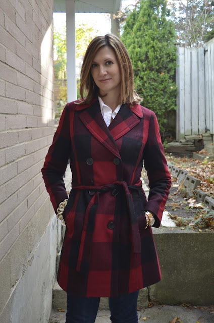 Buffalo Plaid - Perfect Winter Pattern for A Coat