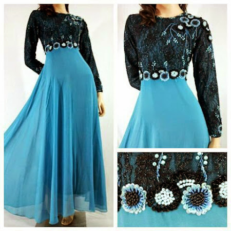 Koleksi Dress Chiffon Full Lining  2014. Rekaan Eksklusif. Stock Sangat LIMITED