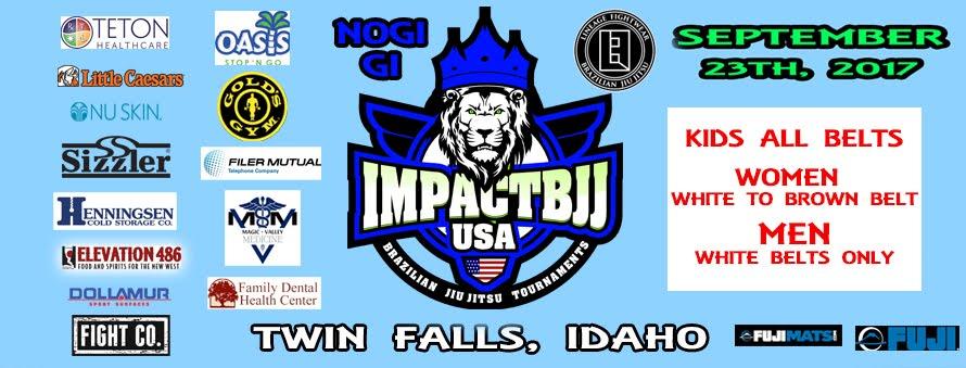 IMPACT BJJ TOURNAMENT - IDAHO