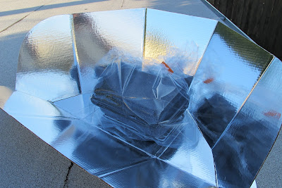 First Time: Solar Cooking