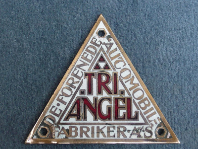radiator emblem badge denmark car vintage