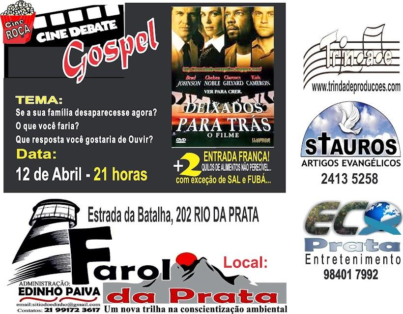 """Cine Roça Filme """"DEIXADOS PARA TRÁS"""""""