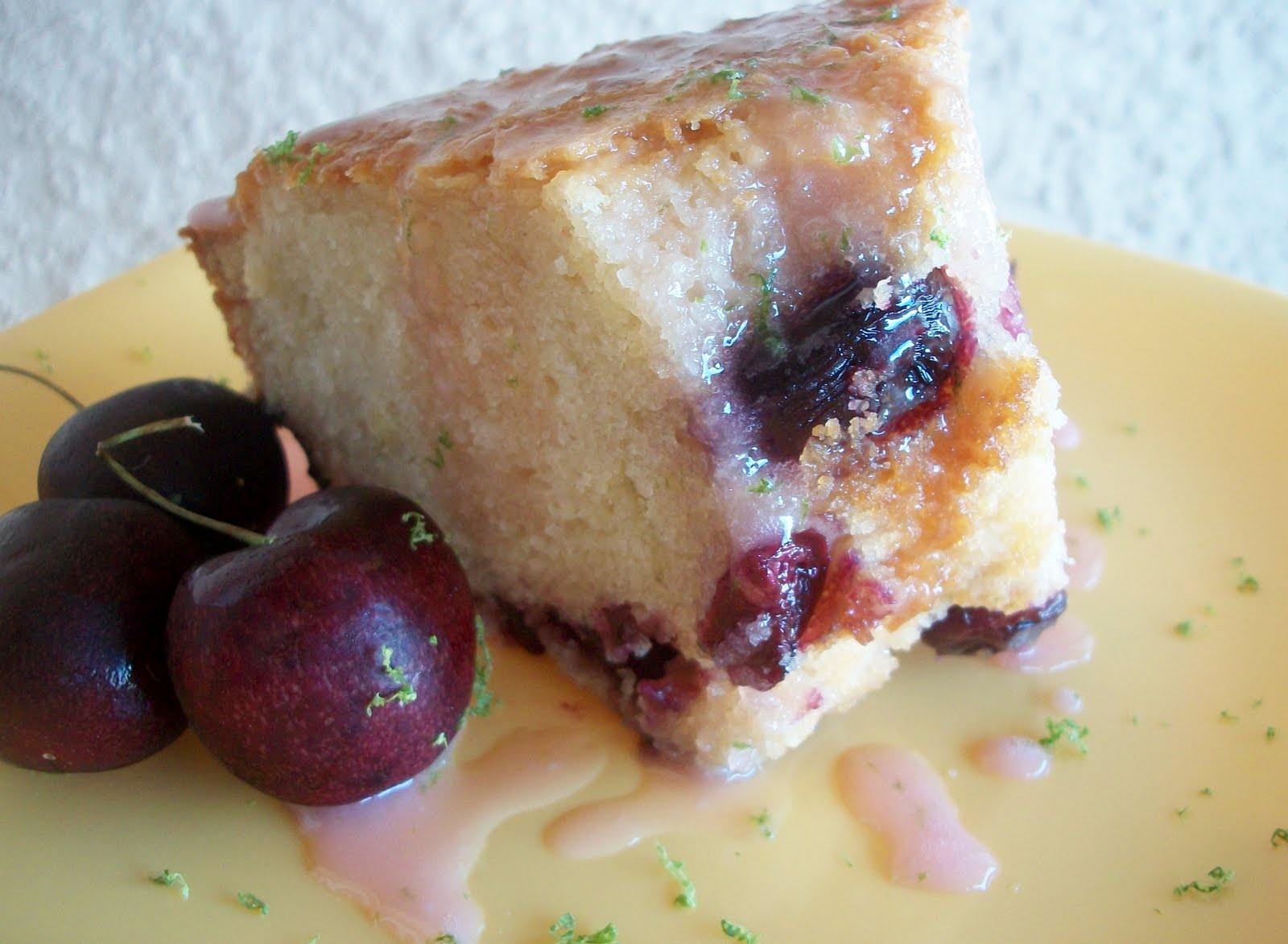 Cooking with Cristine: Cherry Limeade Pound Cake