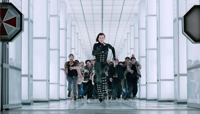 Resident Evil Retribution perseguida