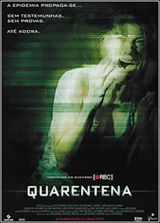 Filme Poster Quarentena DVDRip XviD Dual Audio & RMVB Dublado