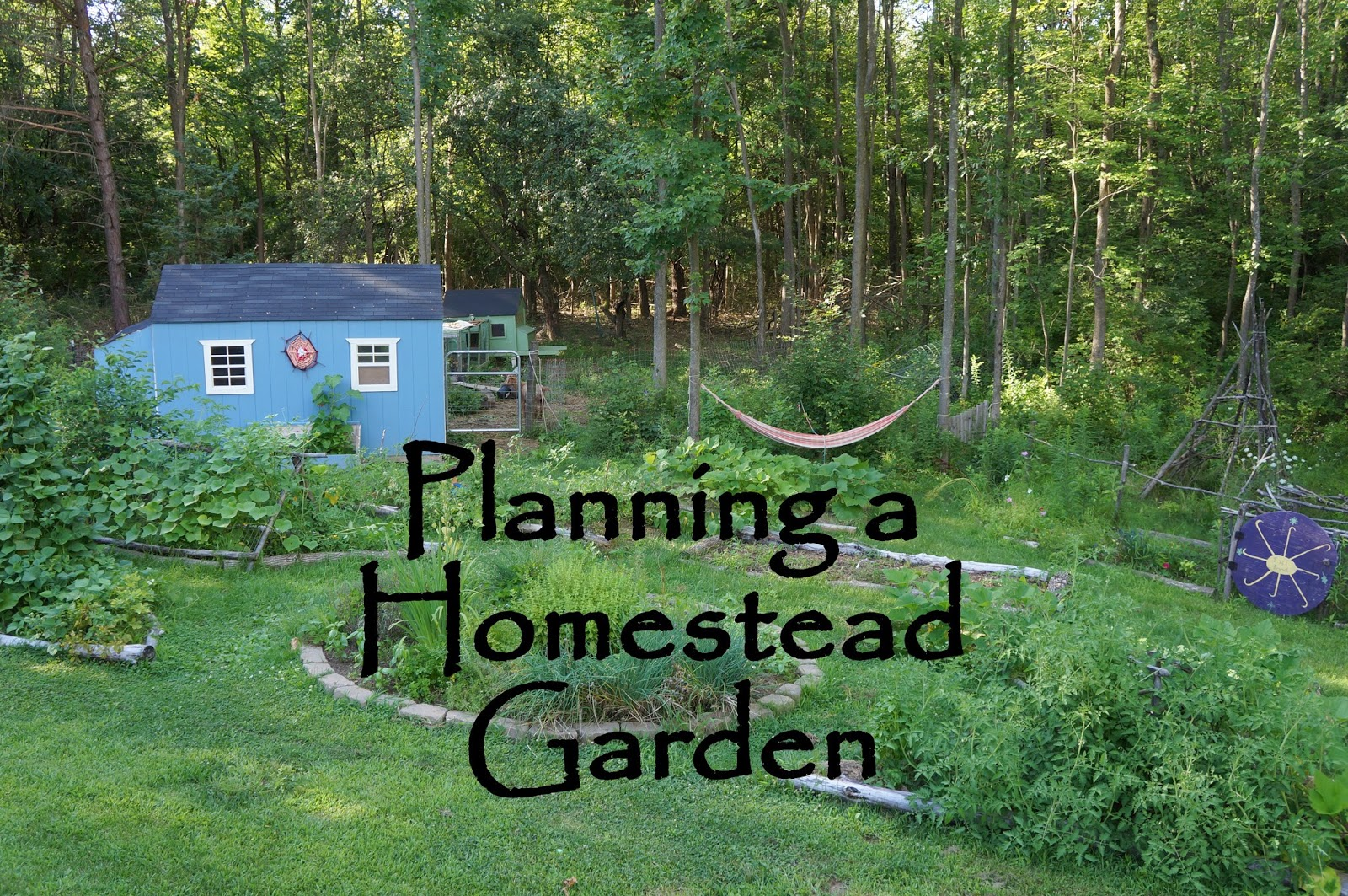 Backyard food garden ideas - Planning Your Homestead Garden