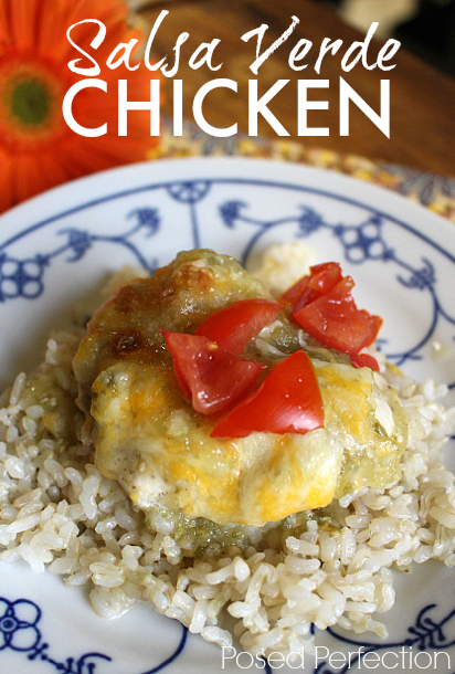 Super Simple Salsa Verde Chicken- Top 10 Recipes of 2014