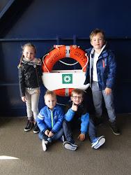 Onze  kleinkinderen Sam, Max, Chloë en Melle zijn heerlijke boefjes!