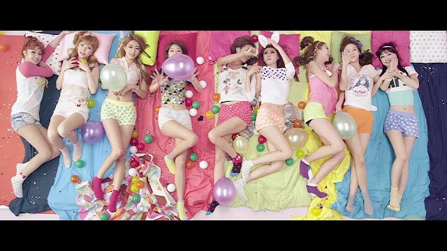Kpop Nails - NINE MUSES' Dolls