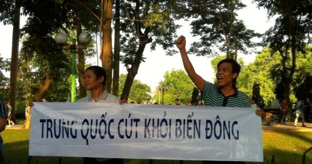10270551 1514443395450195 5108109621865515243 n Preview of Anti China Protest in Front Of Chinese Embassy in Hanoi