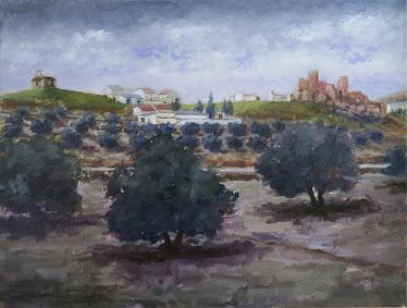 El Berrueco en invierno; Torredelcampo, Jaén (12P).