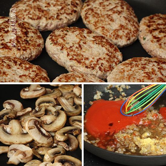 Skinny Salisbury Steak with Mushroom Gravy   Skinnytaste