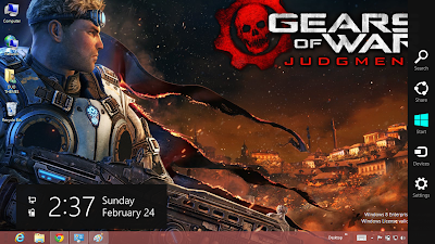 2013 Gear Of War Judgment Desktop Theme
