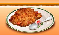 لعبة طبخ الأرز والدجاج