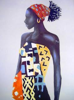 pinturas-modernas-con-mujeres-morenas