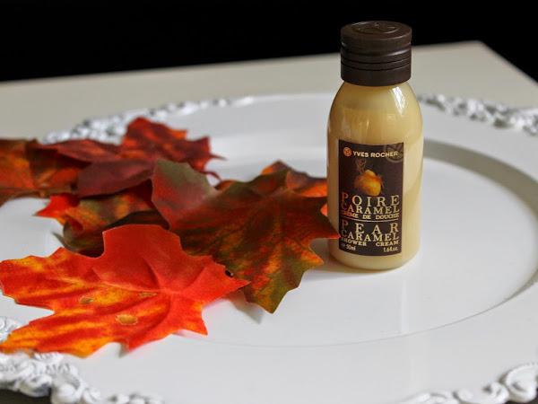 Yves Rocher Pear Caramel Showergel.