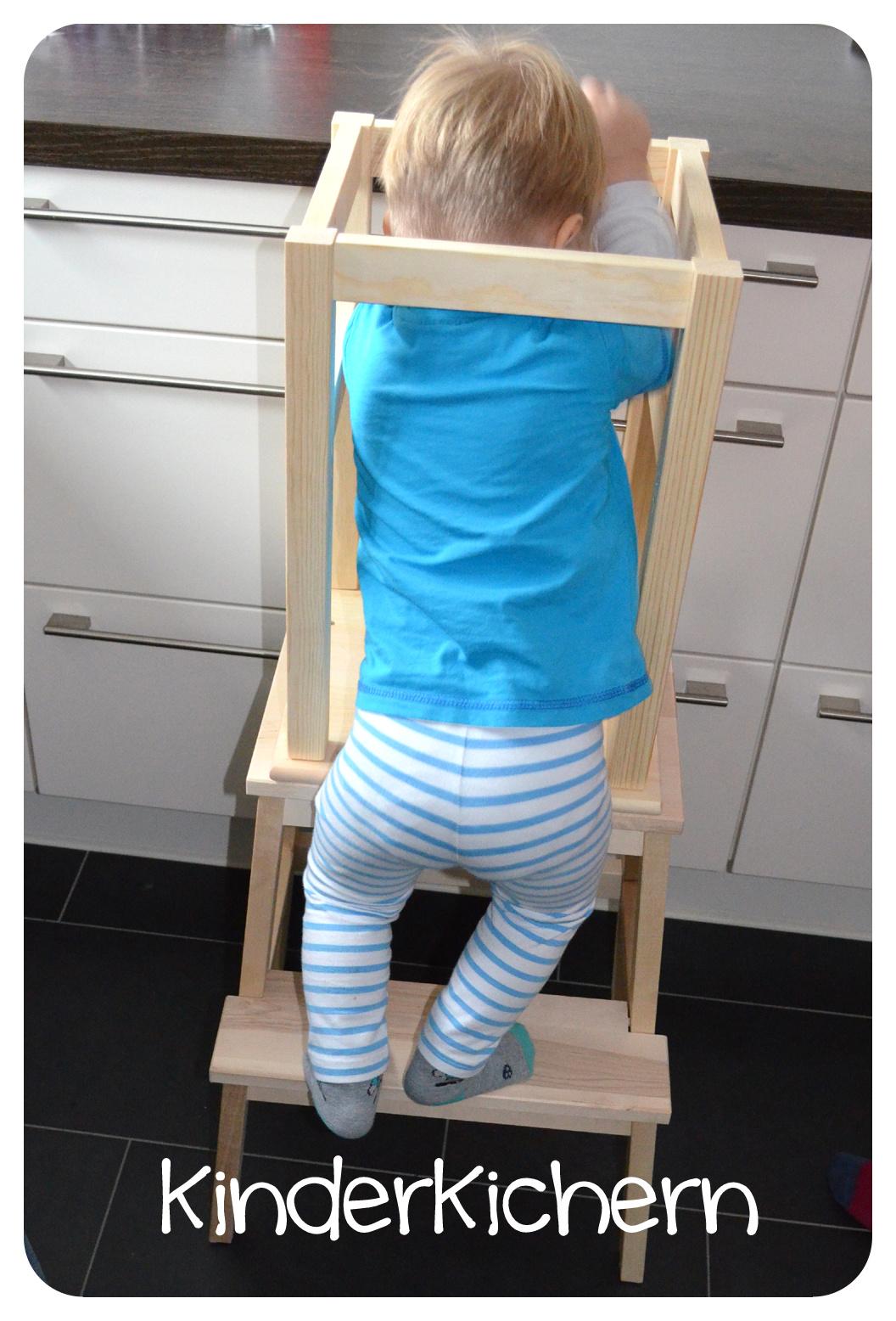 kinderkichern anleitung f r einen learning tower. Black Bedroom Furniture Sets. Home Design Ideas