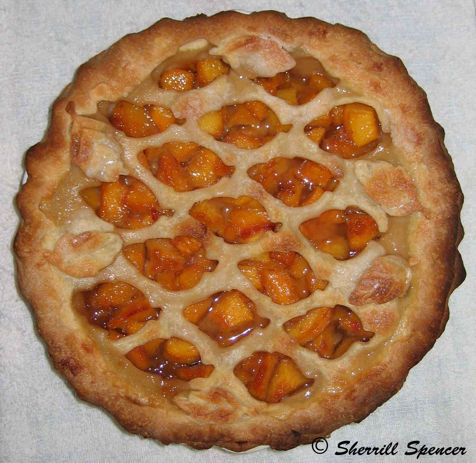Peach Pie Heaven